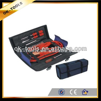 new 2014 14pcs auto emergency tool kit with cable,sockets tractor tool box manufacturer China wholesale alibaba supplier