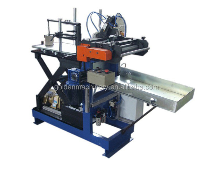Paint Petrol Drum Oil Chemical Tin Can Production Line Square/Tin Can Roll Forming Machine