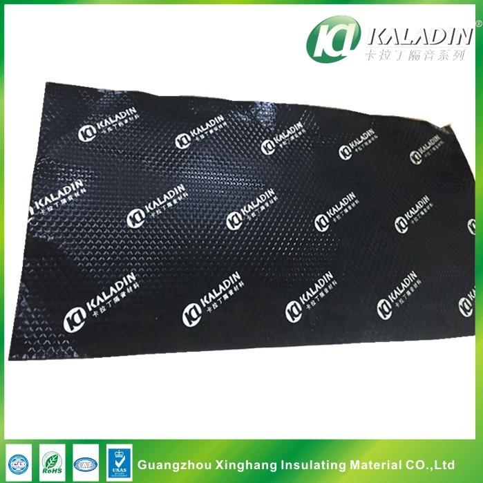 2.5mm black self adhesive auto sound deadening