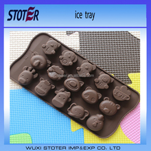 New style Food grade homemade ice cube mould single hole diamond ice