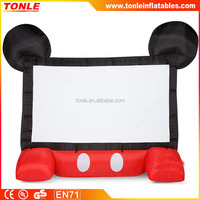 Customized Fantastic Inflatable Movie Screens For Sale, inflatable projector screens for event