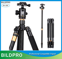 BILDPRO Special Fishing Light With Tripod Stand Professional Video Camera Tripod Aluminum Material