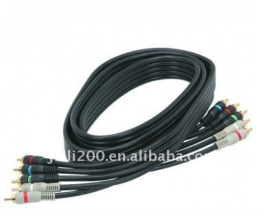 50ft/15m Component Video RGB 5 RCA to 5 RCA Cable
