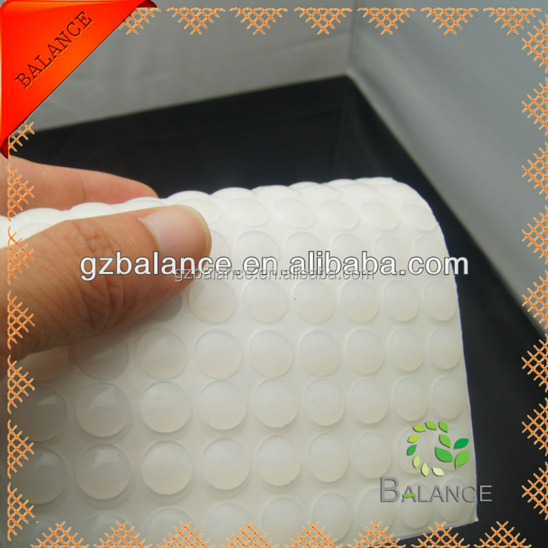 black round rubber feet/adhesive silicone pad/adhesive rubber pad