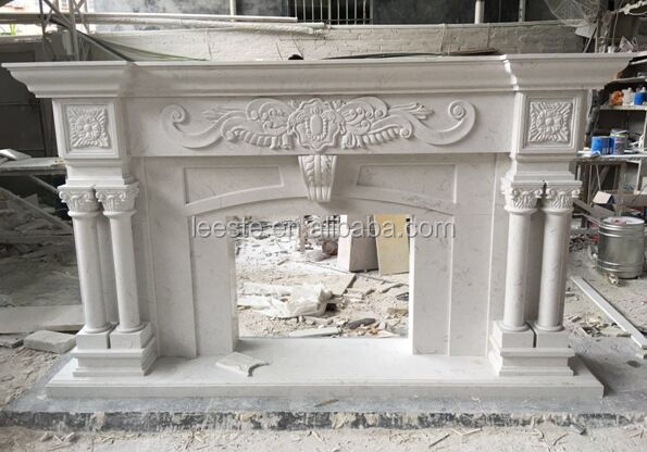 High Quality marble handcarved Fireplace Surround