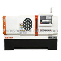 Top Quality Metal Cutting CNC Lathe with max processing length is 750mm CK6136