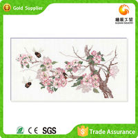 Painting kit factory art decor breath of spring diy diamond oil painting wallpaper