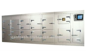 CAS FREEZER COMBINED WITH COLD STORAGE CABINET