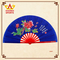 33cm 36cm large hand folding tai chi fan for sale