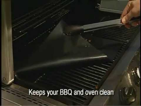 BBQ Grill Mats (Set of 2) 100% Non-stick And Reusable Dishwasher Safe and Easy to clean