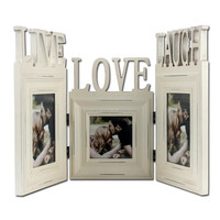 Folding painting photo frame