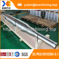 High precision forging carbon steel stern shaft with good price