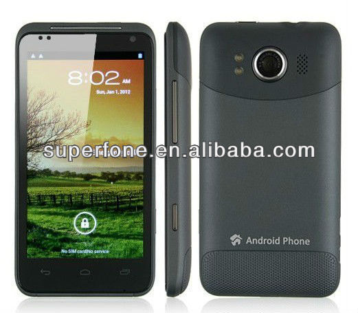 3g mobile phones android V1277 Smart Phone Android 4.0 MTK6577 HDMI 3G GPS WiFi 4.3 Inch QHD Screen