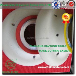 cnc turbine wheel for stone slab edge grinding and profiling-diamond grinding cnc wheel tools manufacturer