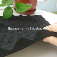 China top supplier soundproof acoustic egg crate foam rubber sheet