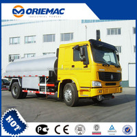 HOWO 4x2 tanker truck weight