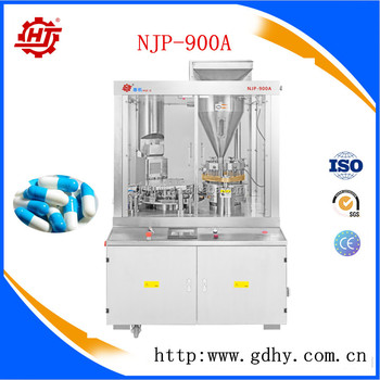 NJP-900A Chinese supplier fully automatic capsule filling machine price capsule filler