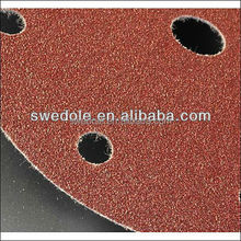 abrasive round hook and loop fastenersanding disc for polishing metal and wood