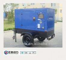 Mobile Trailer Genset 80KW Prime Power