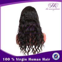 Best Selling Products For Women 100% Human Hair Black Fashion Asian Hair Wigs With Baby Hair