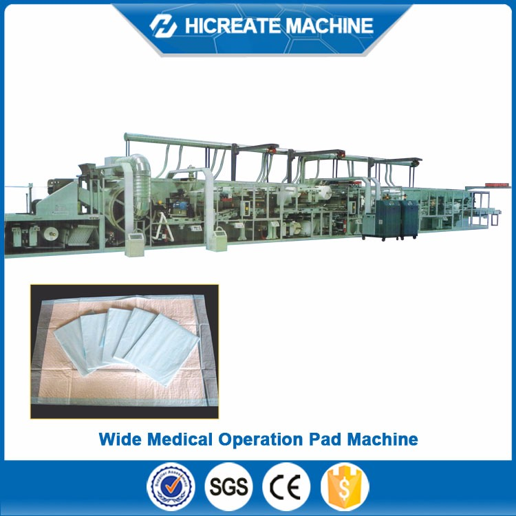 HC-PPM High Quality Competitive Price disposable underpad making machine Manufacturer from China