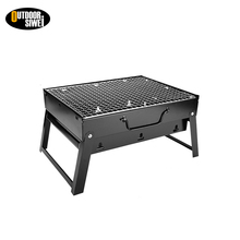 Modern Style Camping Cast Iron Mini Charcoal Bbq Grills