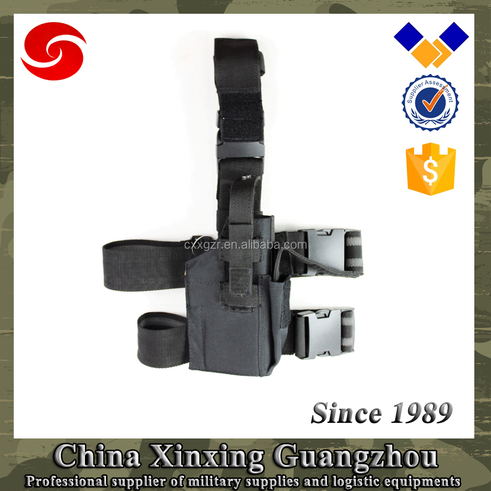 600D polyester Tactical holster gun holster leg holster for military army