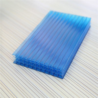 house sun roof poly carbonate sheets 10mm Twin Wall polycarbonate hollow sheet