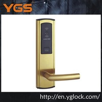 new product YGS9935-G stainless steel electronic card swipe door lock