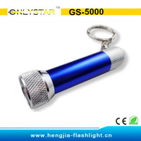 Factory hot sale led torch keyring
