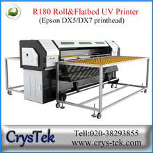 printer roll to roll flatbed/1.8m eco solvent printer with Dx5 head