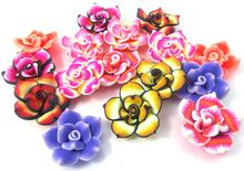 attactiove design! fimo clay lotus flower for wholesale