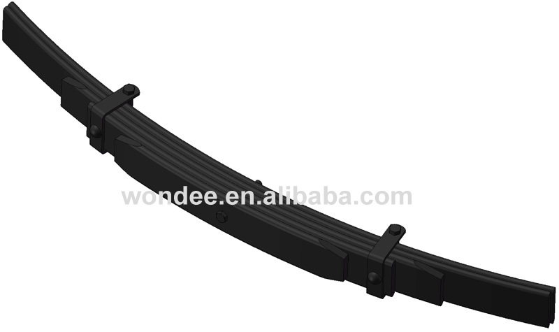 HPR5HA Conventional Type Steel Rear Leaf Spring for Pickup