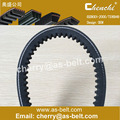 OEM row edge cogged v-belt auto automatic transmission belt rubber v-belt cutting v-belt neoprene Edge-cut V-belt