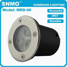 Utral Bright DMX 3W LED Underground Light