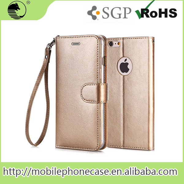 Alibaba China Supplier Business Mobile Phone Cover, Mobile Phone Flip Case For iphone 6s