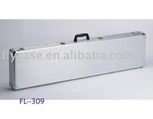 2012 new design Aluminum rifle case ,gun case with logo print and sponge insides