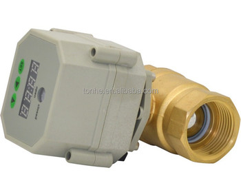 DN25,DN20 Timer adjustable electric ball valve with spring return