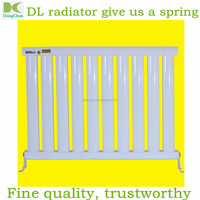 flat steel plate ladder shape radiator for home heating 70*25 of connection dimension D40, steel column radiator