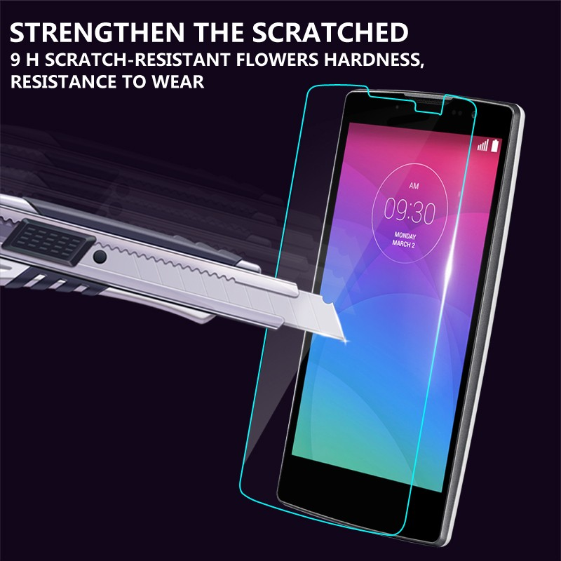 9 H Super clear Anti-Shock Tempered Glass Film For Samsung G350