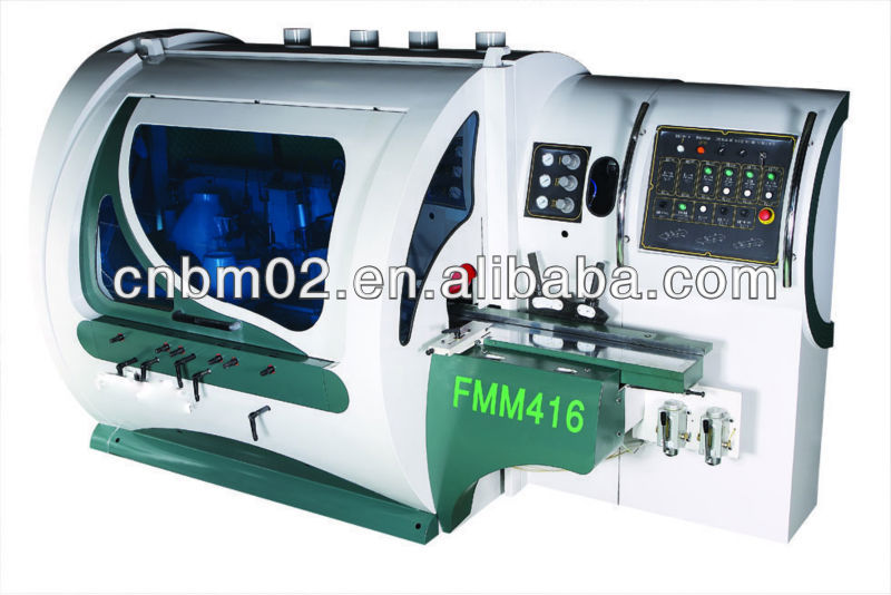 Feeding Motor power 1.1kw Four Side Planer