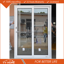 YY Home elegant low e glass aluminum patio sliding glass door