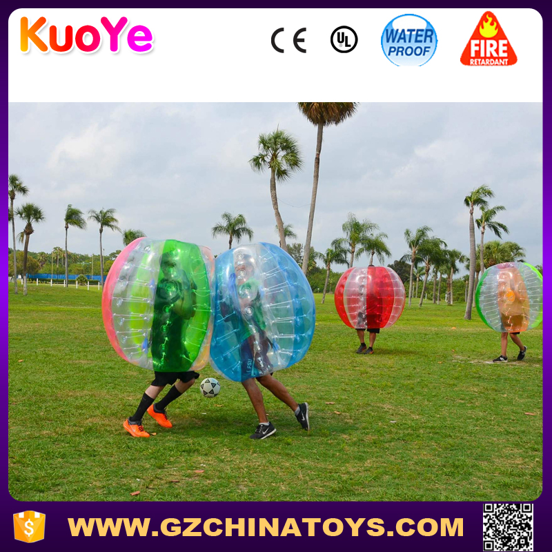 colorful football inflatable body zorb ball manufacturer