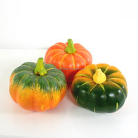 Cheap decorative bulk fake craft foam styrofoam pumpkins
