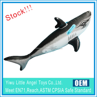 Stock for wholesale PVC Ride on Inflatable Shark Whale