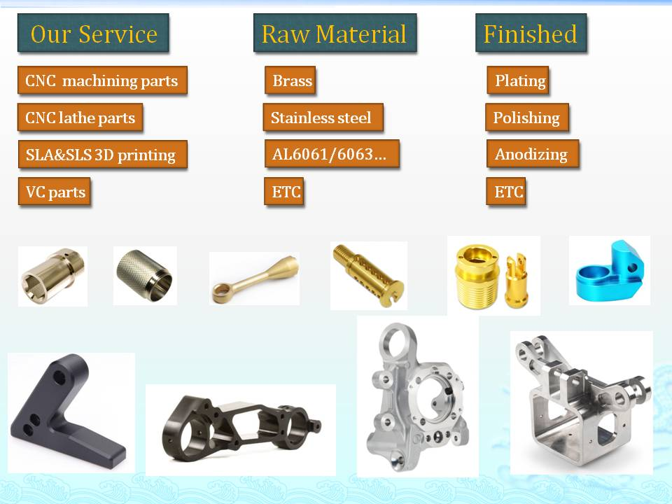 Custom Metal spare part for photographic equipment , CNC metal part , CNC parts