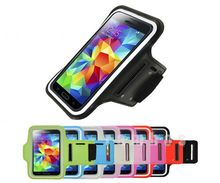 Cell Phone Sports Running Gym Fitness Armband Arm Band Case Cover Pouch for Samsung Galaxy S5 i9600