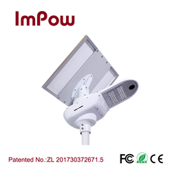Integrated 50w aluminum housing all in one solar led street light