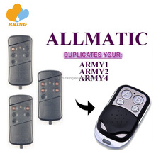 ALLMATIC ARMY1 ARMY2 ARMY4 Universal RF Garage And GateRemote Control Transmitter Key fob Duplicator 433.92MHz Self learning