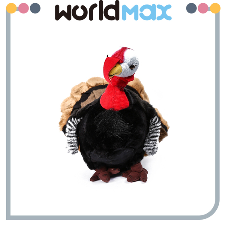 Super Soft Fabric Adorable Turkey Plush Toy